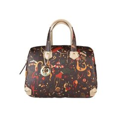 """Collection """"Magic Circus""""- Handbag of eco leather applied logo- double handle- Zip fastening- inside: 1 compartment 1 zip pocket a phone pocket- dust bag includ Bago, Louis Vuitton Speedy Bag, Elegant, Classic, Woman, Fashion, Classy, Derby, Moda"""