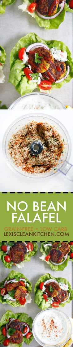 No-Bean Falafel | Lexi's Clean KItchen | #whole30 #lowcarb #vegetarian