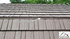 Gambrel Roof Transition Metal