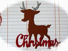 Kulricke Dies and Clearstamps: A sweet Christmas Card #Designed by Lisset!