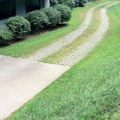 Permeable paver driveway. This might be the one for us. The idea of off-street parking is SO appealing.:)