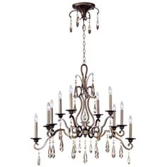 Chic 10-Light Chandelier