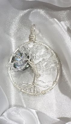 Tree of LIfe Glow in the Dark with Moon by eJewelryJunction