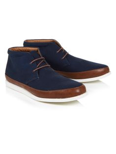 Sinclair Lace Up Boot | Navy | Ben Sherman