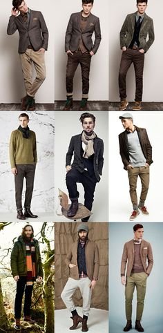 Men's Brogues, Hiking Boots and Heritage Shoes Lookbook