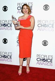 I'm fierce 'n feeling mighty., wvsashafan: Sasha looks pretty happy with that. Sascha Alexander, Angie Harmon, Celebs, Celebrities, How To Look Pretty, Taylor Swift, Peplum Dress, Ncis, Awards