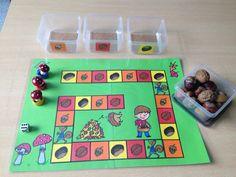 Herfstvruchten spel Autumn Activities For Kids, Toddler Activities, Games For Kids, Crafts For Kids, Kindergarten Activities, Preschool Activities, Home Made Games, Too Cool For School, Autumn Theme