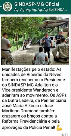 ALEXANDRE GUERREIRO: SINDASP-MG NA LUTA PELA VALORIZAÇÃO DO AGENTE PENI...