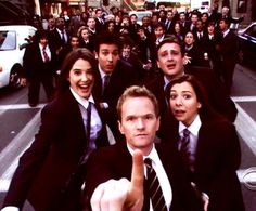 How I Met Your Mother, love story in reverse