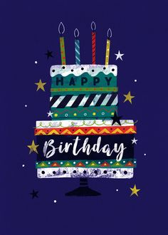 Free Happy Birthday Cards, Birthday Wishes For Kids, Happy Birthday Art, Happy Birthday Pictures, Birthday Blessings, Birthday Wishes Cards, Birthday Fun, Cake Birthday, Birthday Greetings Quotes
