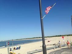 Cape May Point Beach NJ USA