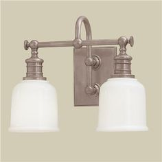 Well Appointed Bath Light  - for small bath by mudroom