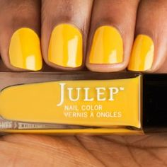 Catrina - Marigold yellow crème nail polish