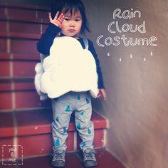 DIY Rain Cloud Costume!