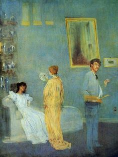 The Artist's Studio (also known as Whistler in His Studio) James Abbott McNeill Whistler - circa 1865