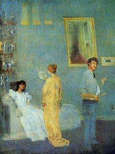 Whistler in his Studio