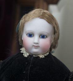 Antique French Fashion Barrois doll