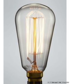 Incandescent light bulb   Pear shaped   Urban Cottage Industries