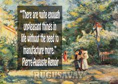 Pierre-Auguste Renoir Quotes