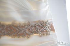 DIY wedding sash