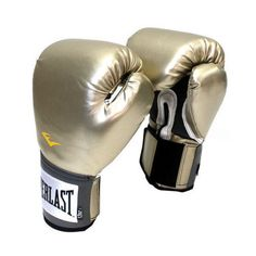 EVERLAST Boxing Glove Prostyle training gloves MMA Muaythai Punching Gold 1pair #Everlast