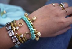 Honestly WTF   DIY Woven Charm Bracelet