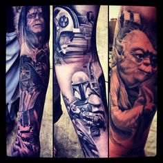 Date a man with a sleeve like this I would    - Steve Soto