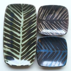 """New Ruutu DishesSarita Koivukoski: I am a ceramic artist (MA degree) working in a collective artist studio in Helsinki, Finland. My main products are called """"Ruutu"""" and """"Trima,"""" two lines of unique but durable stoneware plates in a variety of colorful glazes, patterns, and sizes"""