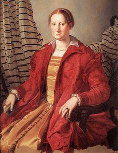 Agnolo Bronzino. Portrait of a Lady,  1550 Portraits of  Women in Italian Renaissance Painting #TuscanyAgriturismoGiratola