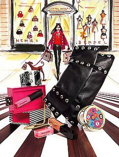 Henri Bendel Illustration
