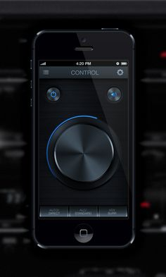 Pioneer App User Interface *** by Diego Monzon