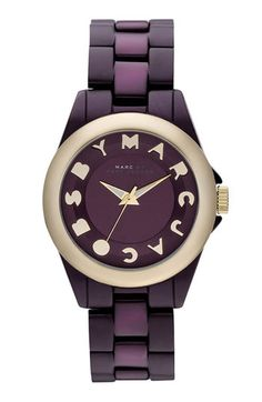 purple marc jacobs watch