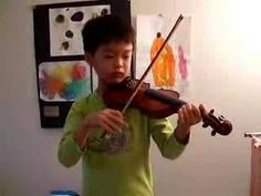 Gavotte in D Major by J.S.Bach [Suzuki Violin School Volume 3]; After recital, my son played one more time—See more of young violinist #sonA_from_richroyarina