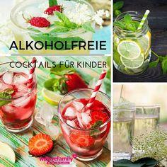Alkoholfreie Cocktails für Kinder