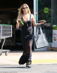Bikini season: Singer and actress LeAnn Rimes was spotted on Saturday wearing a flowing bl...