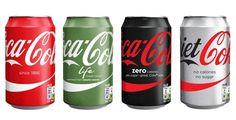 Coca-Cola unifica embalagens na Europa