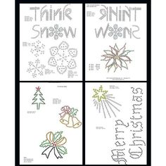 Christmas Pattern Booklet