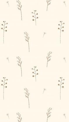 Wallpaper Images Hd, Cute Patterns Wallpaper, Simple Wallpapers, Aesthetic Pastel Wallpaper, Pretty Wallpapers, Aesthetic Wallpapers, Flower Phone Wallpaper, Iphone Background Wallpaper, Vintage Phone Wallpaper