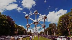 Atomium was built in Brussels in 1958 for the Brussels Worlds Fair. It was designed by engineer Andr Waterkeyn and shaped in the form of a unit cell of an iron crystal, only enlarged 165 billion times!  All images of Atomium are copyright Atomium, but I was extremely fortunate to be allowed full access, after hours to create this project, purely for the love of photography, time-lapse and architecture and design.  I want to thank everyone at Atomium for making me feel welcome …