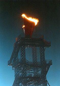 Olympic Torch - Atlanta 1996, AKA large box of fries...