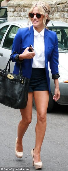 Caroline Flack sports her signature style as Dermot O'Leary marries Dee Koppang Short Outfits, Summer Outfits, Formal Outfits, Caroline Flack Style, Pixie Geldof, Celebrity Style Inspiration, Pretty Outfits, Pretty Clothes, Sport