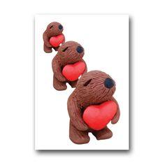 Squidgeme bear triple card