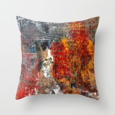 Destruction Throw Pillow