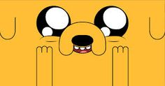 Jake from Cartoon Network's Adventure Time is TV's best (and most empathetic) character. Cute Desktop Wallpaper, Mac Wallpaper, Computer Wallpaper, Wallpaper Notebook, Desktop Wallpapers, Adventure Time Tattoo, Fin And Jake, Jake The Dogs, Adventure Time Wallpaper