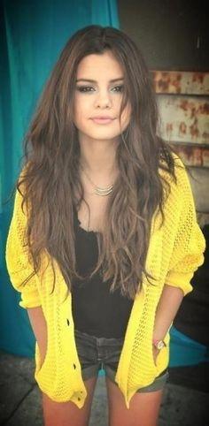 Cortes pelo ondulado 2014: Estilo Selena Gomez