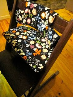 Seedlings Nest: Pattern & How to make a cushion for a Tripp Trapp