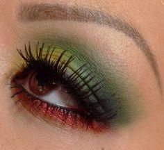 Rasta Eye makeup