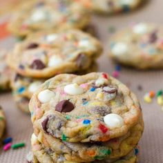 Cake Batter Cookies, these things are AmAzInG!:)