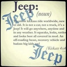 Jeep Saying