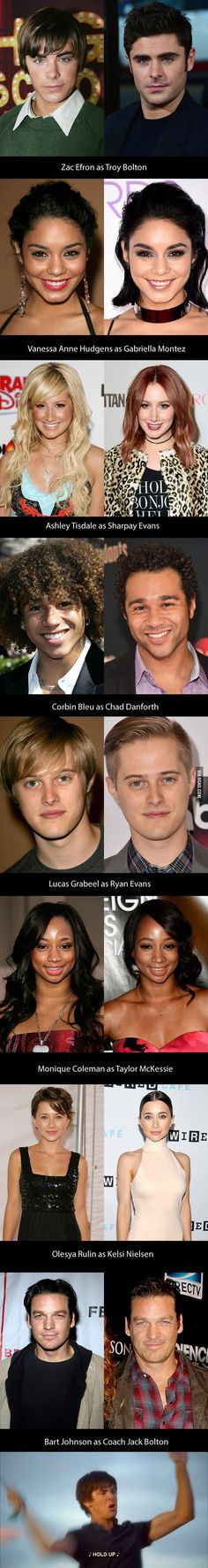 "Here's What The Cast Of ""High School Musical"" Looks Like After 10 Years - 9GAG"